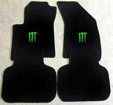 Autoteppich Fußmatten für Dodge Journey Monster neongrün ab 2008 4teilig Neuware
