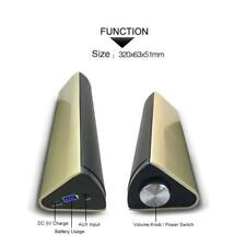 XHDATA L-099 Wireless Computer Speaker Creative Stereo Strip Bluetooth Speaker