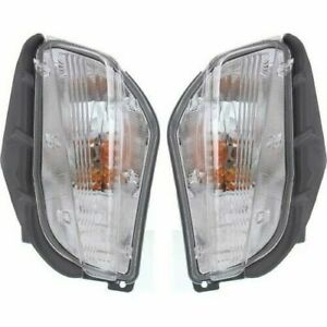 FOR TY PRIUS V 2012 2013 2014 SIGNAL BLINKER LIGHT RIGHT & LEFT PAIR SET