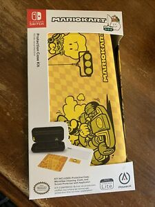 Mario Kart Edition- Nintendo Switch Lite Protection Case Kit PowerA *Brand New*