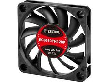 Evercool EC6010TH12BP 60mm x 10mm Hi-Speed Dual Ball Bearing PWM 4 Pin fan NEW