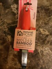 Natural Home Products 40514 Moboo Red Bamboo & Stainless Steel Peeler BPA Free