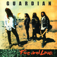 GUARDIAN - FIRE & LOVE (Legends Remastered) Dinged VINYL *NEW XIAN METAL 2017