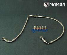 MAMBA For Nissan RB26DETT SKYLINE GTR Turbo Oil Feed Line HKS 2510 2530 2540 BB