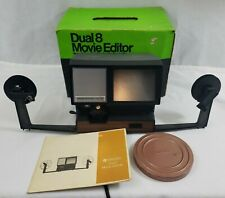 JCPenny Dual 8 Film Editor - w/ Box - VINTAGE - TESTED