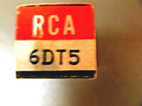 6DT5 RCA VINTAGE VACUUM TUBE, (NEW IN BOX / NEW OLD STOCK)