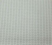 Funanimals BTY Maude Asbury Blend Fabrics Gray White Mod Floral Stripe