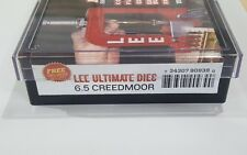 Lee Precision Ultimate Dies, 4 Die Set for 6.5 Creedmoor, #90939, NIB