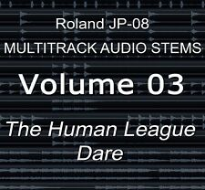 Roland JP-08 multipiste Audio Tiges Vol.3 The Human League-Dare