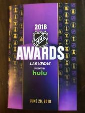 2018 NHL Award Show Program Las Vegas- MINT Condition