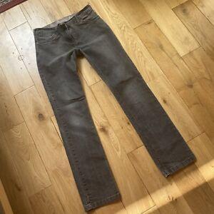 Next Grey Stretch Skinny Leg Jeans Size 10 Long