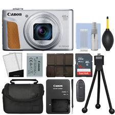 Canon PowerShot SX740 HS 20.3MP Digital Camera 40x Optical Zoom Silver+ 16GB Kit