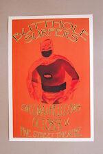 Butthole Surfers Concert Tour Poster 1989 Smegma & Hellcows Pine Street Theatre