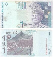 Rare world Currency10th series 2000 Malasiyan bank notes RM1 SATU Ringgit Rarts