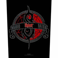 "SLIPKNOT - ""CREST"" - LARGE SIZE - SEW ON BACK PATCH - OFFICIAL"