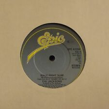 "THE JACKSONS 'WALK RIGHT NOW' UK 7"" SINGLE #2"