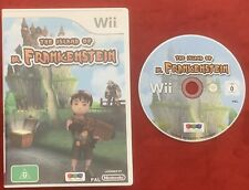 The Island Of Dr. Frankenstein Game for Nintendo Wii / Wii U PAL complete