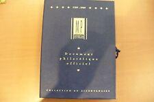 SUPERBE COFFRET MUSEE DE LA POSTE  1789/1989 BICENTENAIRE - A COLLECTIONNER  !!!