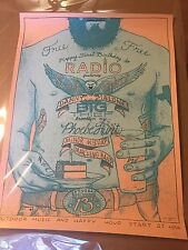 DAN GRISSOM 2015 JUNE 13TH HAPPY BIRTHDAY TO RADIO AP PRINT 18X24 INCHES SIGNED