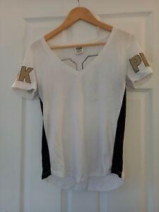Womens Victoria Secret Top / T-Shirt PINK Excellent Condition Size XS