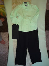 Boys Dress outfit Clothes Fall/Winter Dress Pants Dress Shirt  Size 7__B2_B20