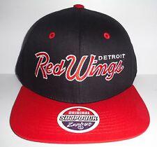 Detroit Red Wings Authentic New Script Hat Zephyr Cap