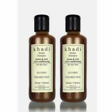 2xKhadi Natural Herbal Henna Tulsi Extra Conditioning Shampoo 210 ML