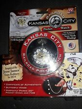 Kansas City Railroad Pocket Watch inspired By Jesse James
