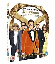 Kingsman: The Golden Circle [Blu-ray + Digital HD] [2017] (Blu-ray)