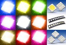 S931 Sortiment 90 Pièce SMD LED 5050 rouge jaune vert blanc bleu orange rose ww