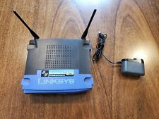 Linksys WRT54G 54 Mbps 4-Port 10/100 Wireless G Router with Factory Firmware