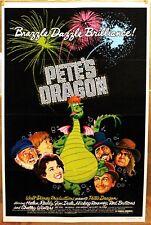 "Pete's Dragon 1977 Original 27X41"" Movie Poster DISNEY FAMILY ADVENTURE FANTASY"