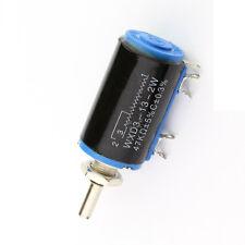 WXD3-13-2W 47K ohm Rotary Multiturn Wirewound Potentiometer NEW