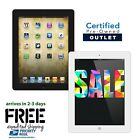 Apple iPad 2, 3 or 4 | 16GB,32GB,64GB or 128GB | Black| White 9.7 WiFi Tablet