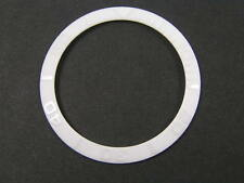 WHITE CERAMIC BEZEL INSERT FOR ROLEX SUBMARINER CUSTOM MADE FOR SEIKO 6309 7002