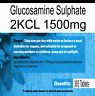 Glucosamine Sulphate 2KCL 1500mg 365 tablets One Years Supply
