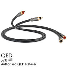 QED Performance AUDIO 40 Stereo Phono RCA Interconnect Cable 0.6m