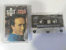 JOAN MANUEL SERRAT NADIE ES PERFECTO - CINTA TAPE CASSETTE 1994 ARIOLA