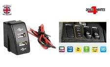 24v Dash Dual Usb Port Insert Charger Outlet Led For DAF XF 95 105 106 CF SEALED