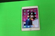 ~ BROKEN Apple iPad Min 4 16GB, Wi-Fi, 7.9in. Gold, AS-IS