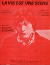 HERBERT LEONARD / BERNET / VANNIER - LA VIE EST UNE SCENE - 1968