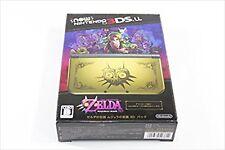 New Nintendo 3DS LL The Legend of Zelda Majora's Mask 3D pack Limited USED