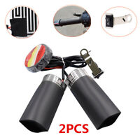 Motorcycle Handlebar Quick Heated Hand Grips Pads Trim Warmer 12V W/Adhesive Tap
