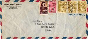 GP GOLDPATH: PORTUGUESE INDIA COVER AIR MAIL _CV686_P12