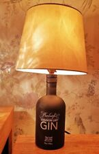 Burleigh London Dry Gin Upcycled Bottle Table Lamp