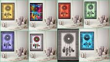 Dream Catcher Wall Hanging Cotton Small Tapestry Poster Indian Art Fabric Decor