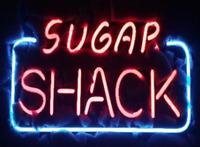 "14""x9""Sugar Shack Neon Sign Light Home Room Wall Hanging Handcraft Artwork Gift"