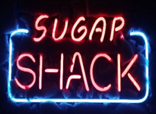 "New Sugar Shack Beer Bar Neon Light Sign 14""x10"""