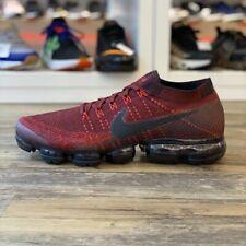 Nike Air Vapormax Flyknit Gr.48,5 Sneaker rot bordo 849558 601 Running Herren Sc
