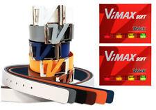 Volvik Soft Vimax 2 Dozen Golf Balls with Volvik Genuine Italian Leather Belt